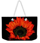 Flaming Flower Weekender Tote Bag