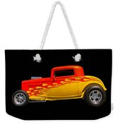 Flaming Hot Rod Weekender Tote Bag