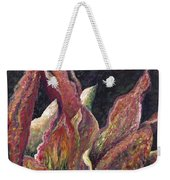 Flaming Leaves Weekender Tote Bag