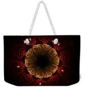 Flaming Night Flower Weekender Tote Bag