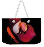 Flaming Orchid Weekender Tote Bag