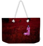 Flaming Pink Weekender Tote Bag
