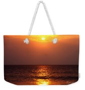 Flaming Sunrise Weekender Tote Bag