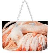 Flamingo Abstract Weekender Tote Bag