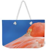 Flamingo Blues Weekender Tote Bag