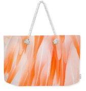 Flamingo Closeup Weekender Tote Bag