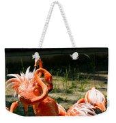 Flamingo Colony Weekender Tote Bag