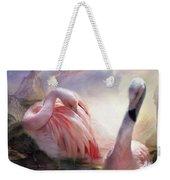 Flamingo Dawn Weekender Tote Bag