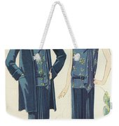 Flappers In Frocks And Coats, 1928  Weekender Tote Bag