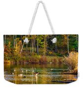 Flapping For Fall Weekender Tote Bag