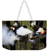 Flash Fire Weekender Tote Bag