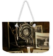 Flash From The Past Weekender Tote Bag