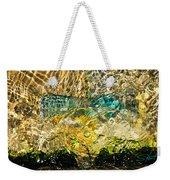 Flash Of Emerald Weekender Tote Bag