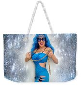 Flashing. Dance With Gold Chain Weekender Tote Bag
