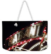 Flashing Lights Weekender Tote Bag