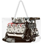 Flat Head V 8 Engine Weekender Tote Bag
