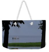 Flat Water Fishing Weekender Tote Bag