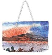 Flathead Lake Montana Weekender Tote Bag