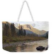 Flathead River Weekender Tote Bag