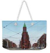 Flatiron Building 1955 Weekender Tote Bag