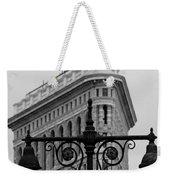 Flatiron Building New York Weekender Tote Bag