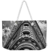Flatiron Building  Nyc Black And White Weekender Tote Bag