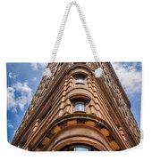 Flatiron Building Nyc Color Weekender Tote Bag