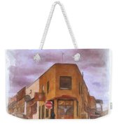 Flatiron Building Of Jerome Arizona Weekender Tote Bag