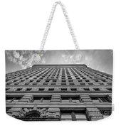 Flatiron Building Sky Black And White Weekender Tote Bag