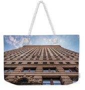 Flatiron Building Sky Color Weekender Tote Bag