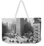 Flatiron Building - Vintage New York - 1902 Weekender Tote Bag