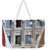 Flatiron Mural Weekender Tote Bag