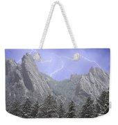 Flatirons Lightning Weekender Tote Bag