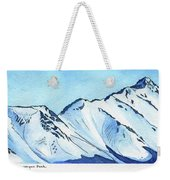 Flattop Through Ptarmigan Peak, Alaska Weekender Tote Bag