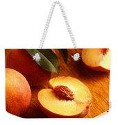 Flavorcrest Peaches Weekender Tote Bag