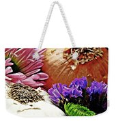 Flavored With Onion And Garlic Weekender Tote Bag