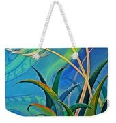 Flax Harakeke By Reina Cottier Weekender Tote Bag
