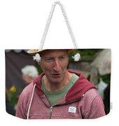 Flea Market Sales Man Weekender Tote Bag