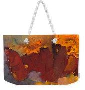 Fleeing The Inferno Weekender Tote Bag