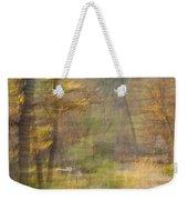Fleeting Autumn Weekender Tote Bag
