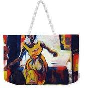 Fleeting Woman Weekender Tote Bag