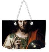 Flemish Salvator Mundi Weekender Tote Bag