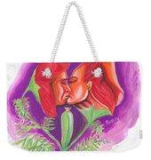 Fleur D'amour Weekender Tote Bag