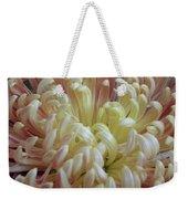 Curled Flower Weekender Tote Bag