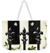 Fleur Di Lis Trio Weekender Tote Bag