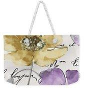 Fleurs De France II Weekender Tote Bag