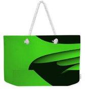 Flight - Green Version Weekender Tote Bag