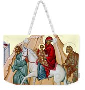 Flight Into Egypt Painting At Shepherds Field Weekender Tote Bag