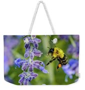 Flight Of The Bumble Bee Weekender Tote Bag