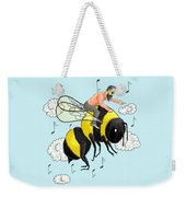 Flight Of The Bumblebee By Nicolai Rimsky Korsakov Weekender Tote Bag